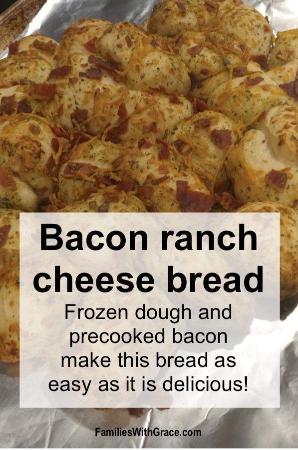 Bacon ranch cheese bread