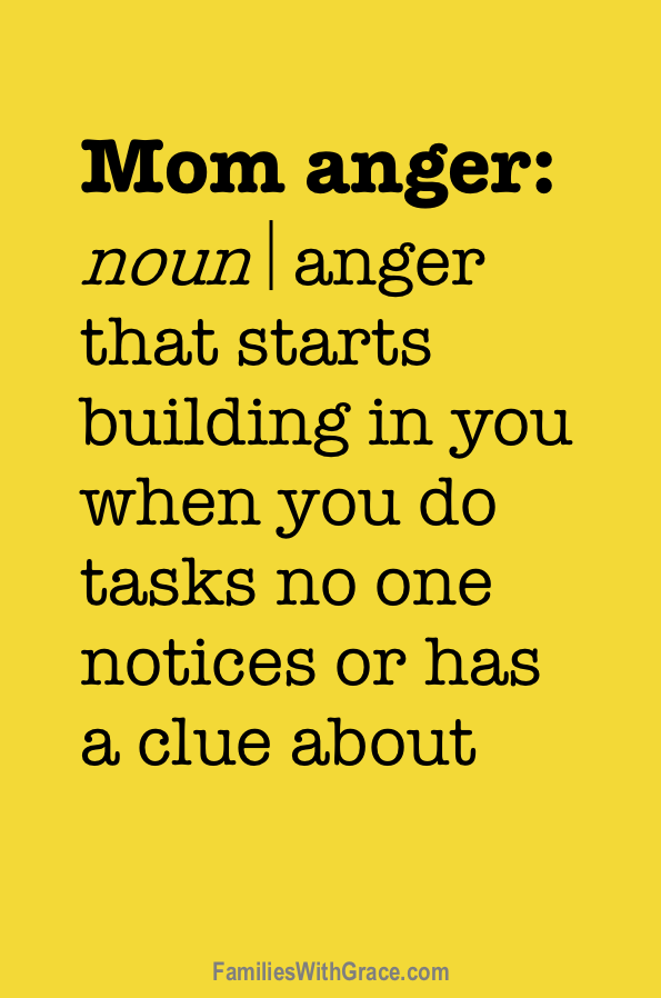 How I stopped being angry at my family