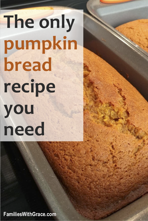 The only pumpkin bread recipe you need