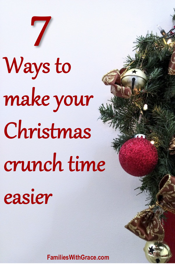 7 ways to make your Christmas crunch time easier