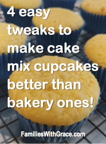 4 easy tweaks to make cake mix cupcakes taste better than bakery ones!