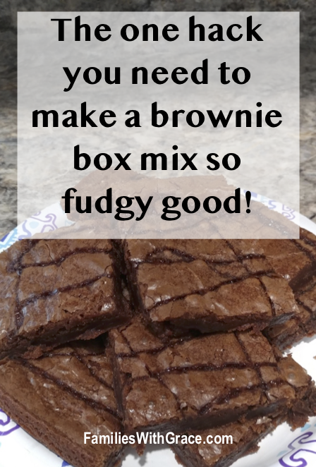 The one hack you need to make a brownie box mix so fudgy good!