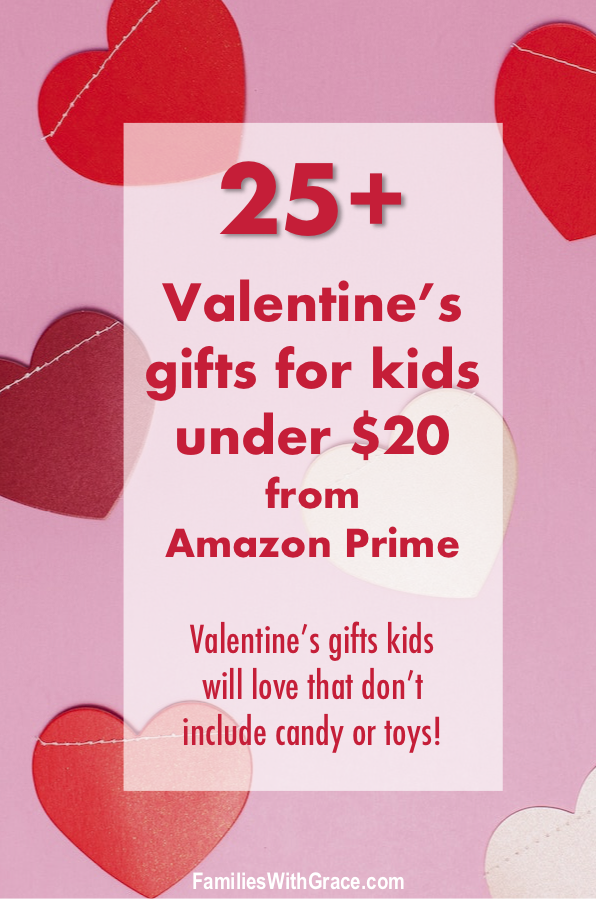 25+ Valentine's gifts for kids under $20 from Amazon Prime