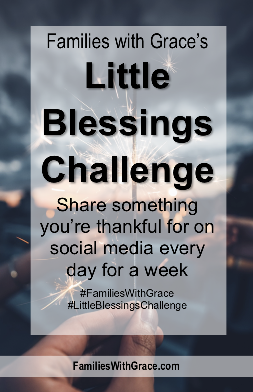 Families with Grace's Little Blessings Challenge