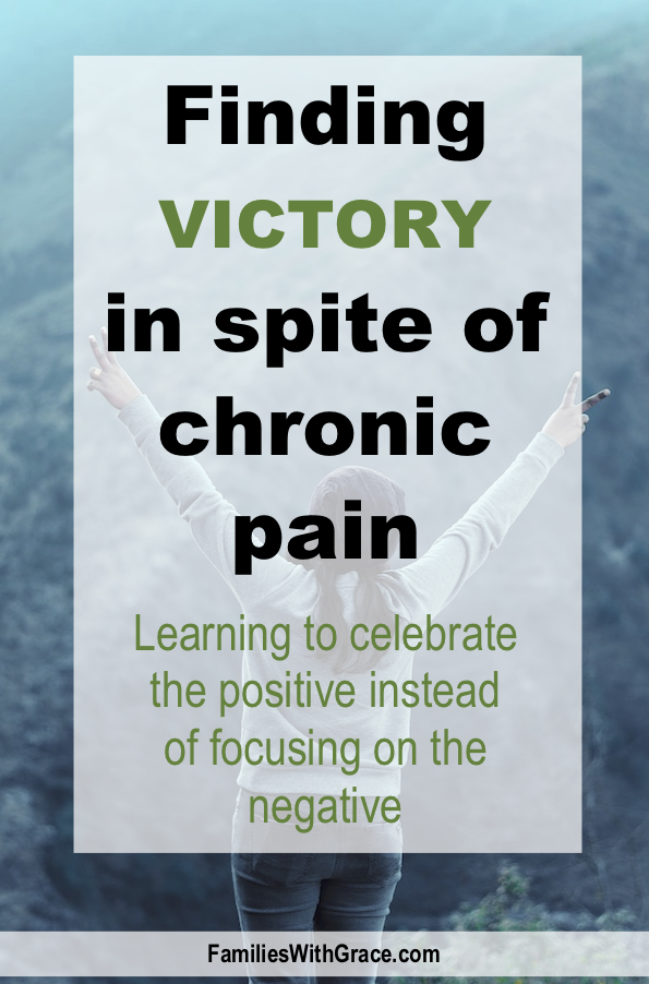 Finding victory in spite of chronic pain