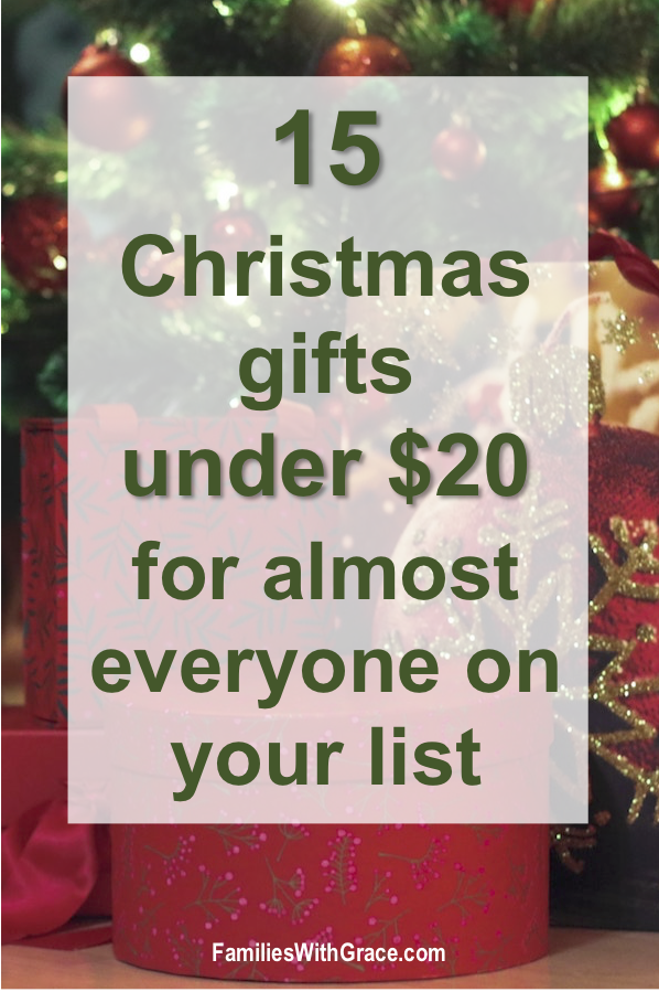 15 Christmas gift ideas under $25 for almost everyone on your list