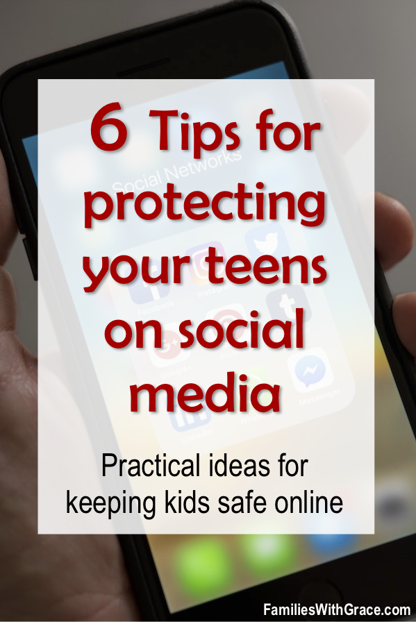 6 tips for protecting your teens on social media