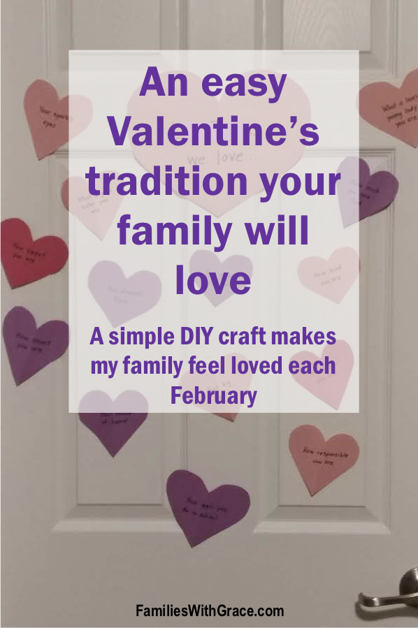 An easy Valentine's tradition your family will love!