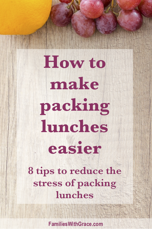 How to make packing lunches easier