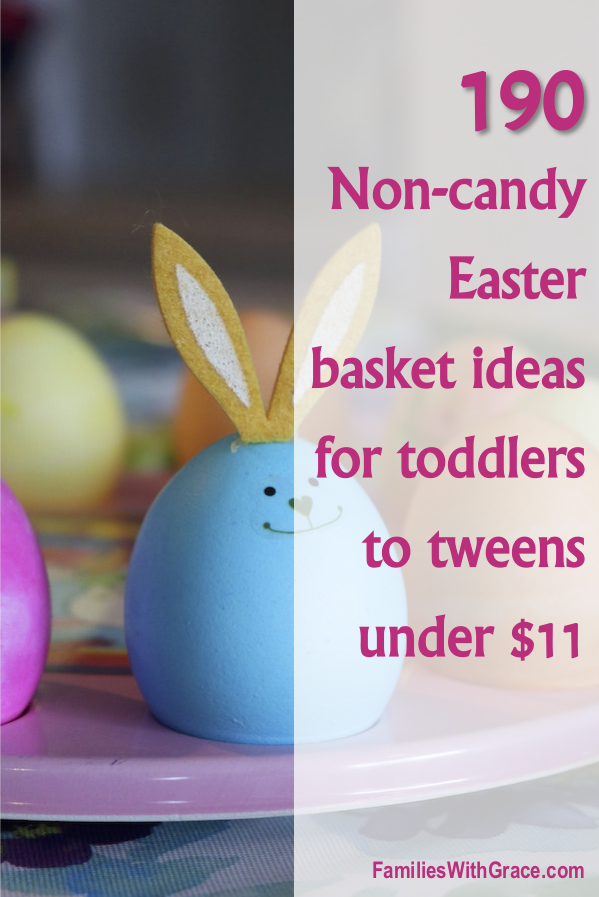 190 Non-candy Easter basket ideas under $11