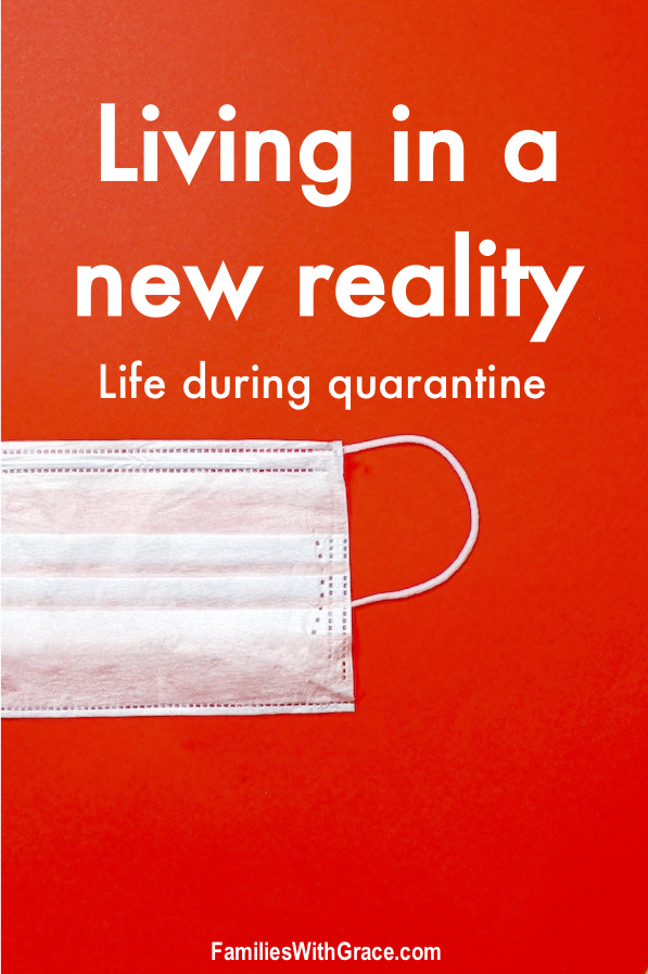 Living in a new reality