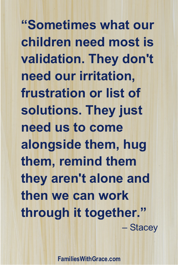 Why our children need validation