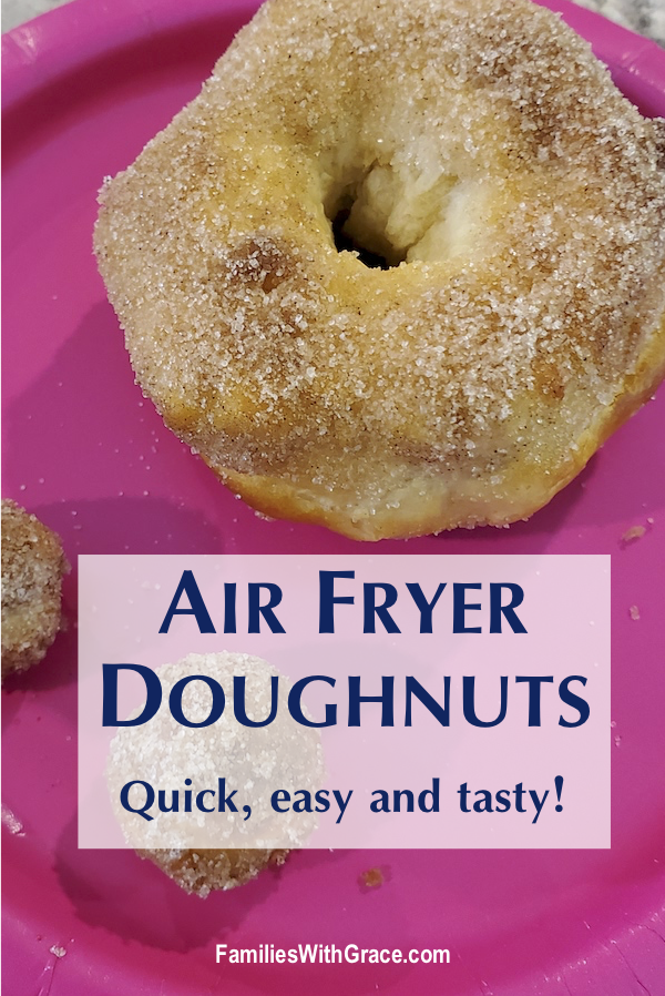 Air fryer doughnuts recipe