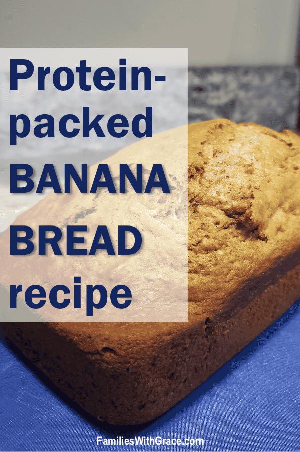 Protein-packed banana bread recipe