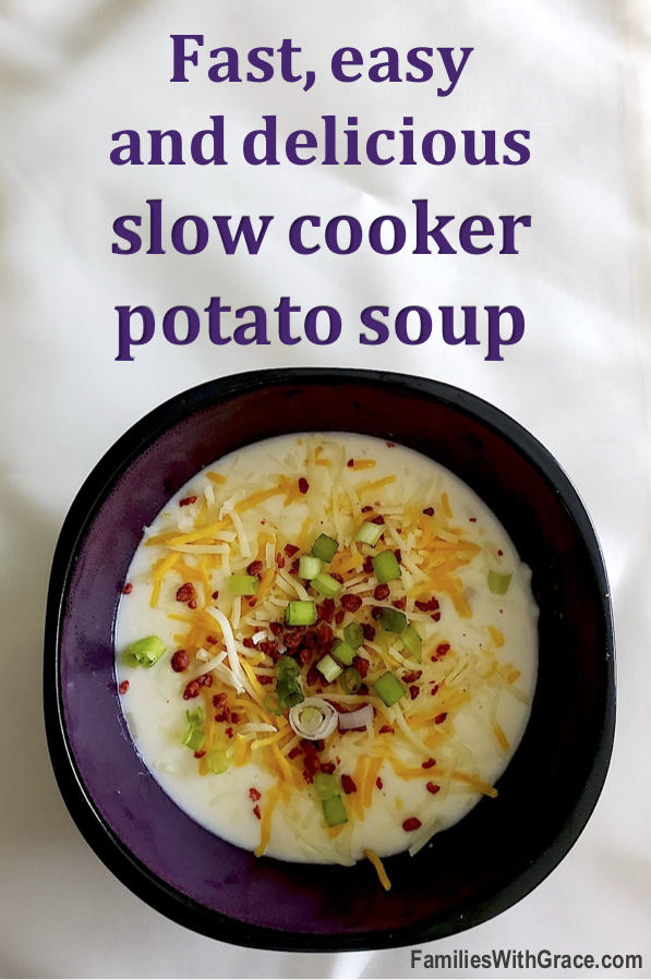 The best slow cooker potato soup