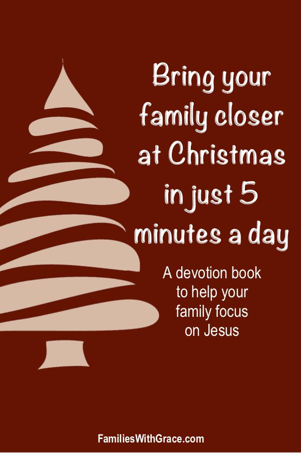 A family Christmas devotion book