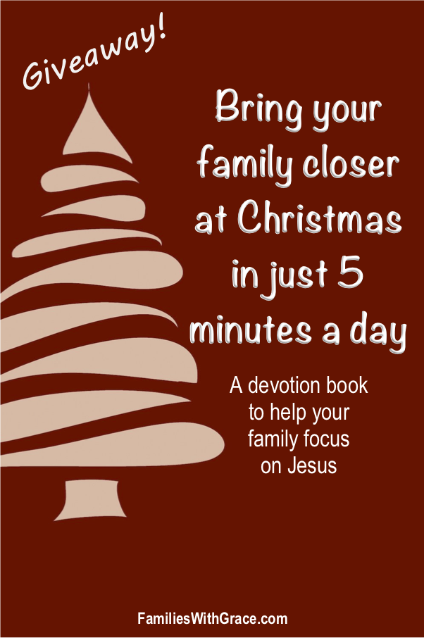 A family Christmas devotion book GIVEAWAY