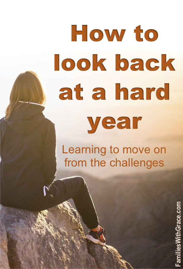 How to look back at a hard year