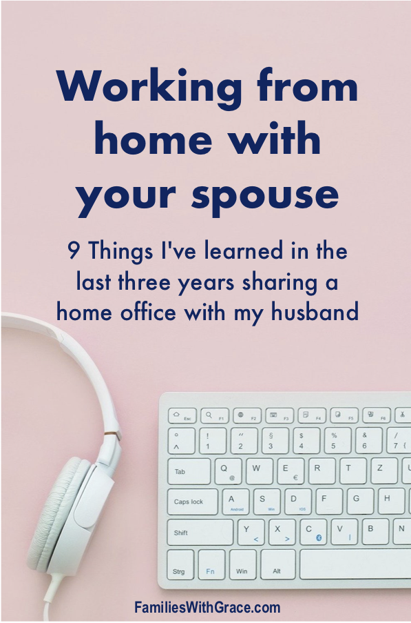 Working from home with your spouse