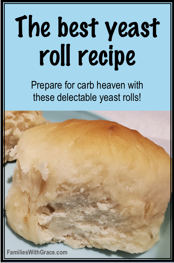 The perfect yeast roll recipe