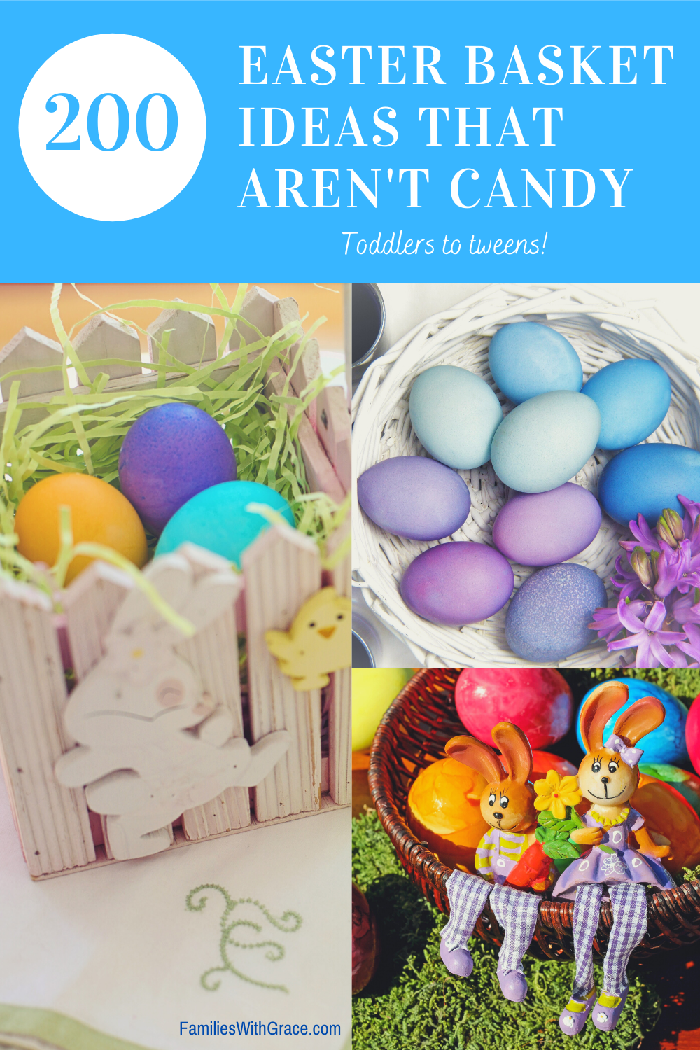 200 Easter basket ideas that aren\'t candy