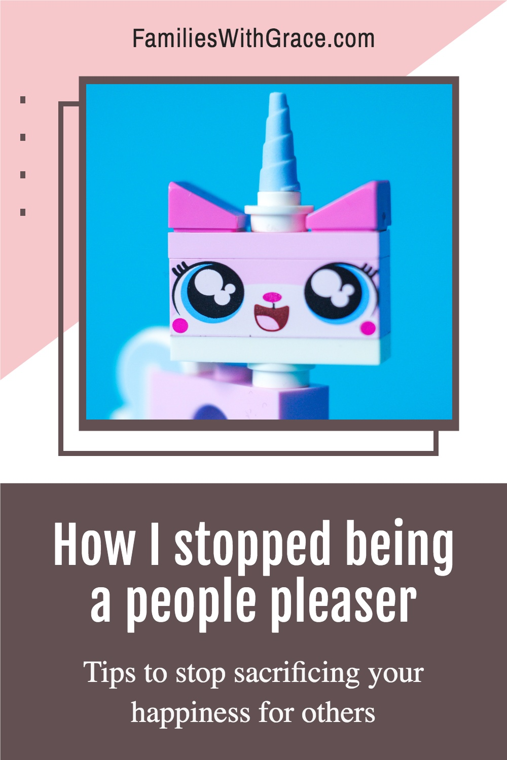 How I stopped being a people pleaser