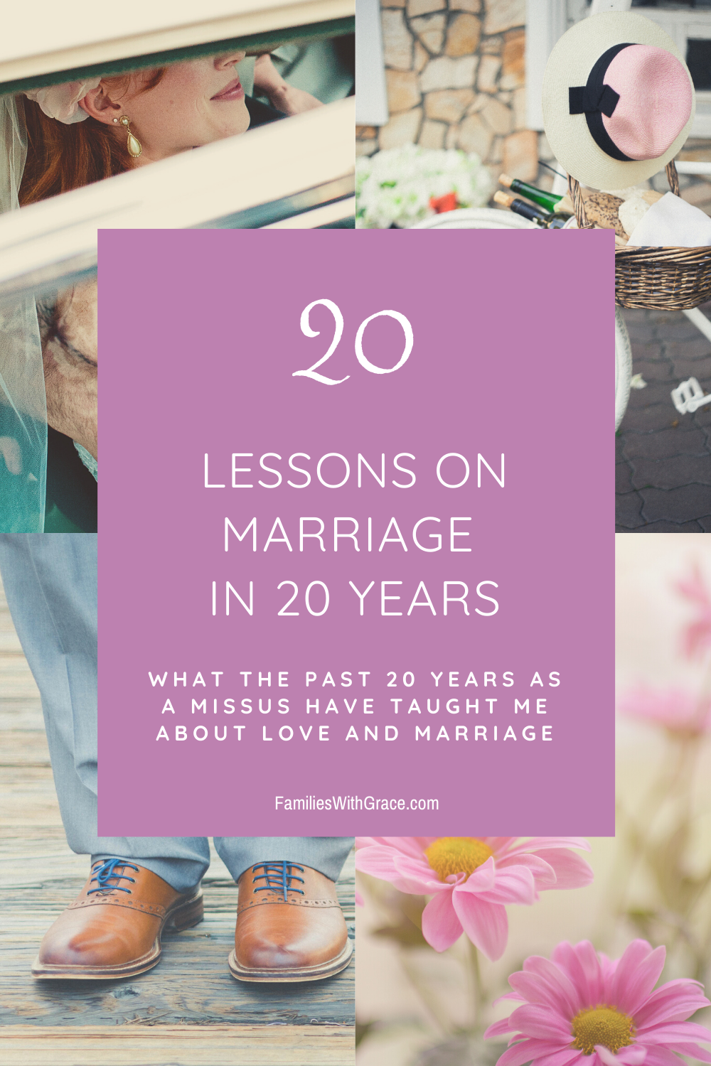 20 lessons on marriage in 20 years