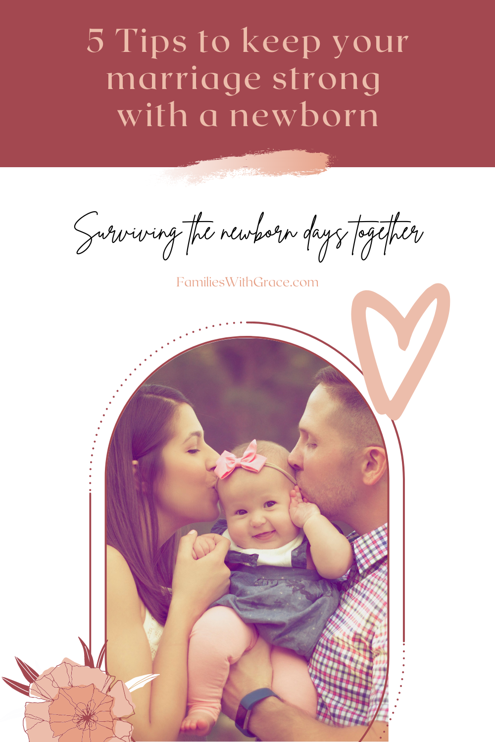 5 tips to keep your marriage strong with a newborn