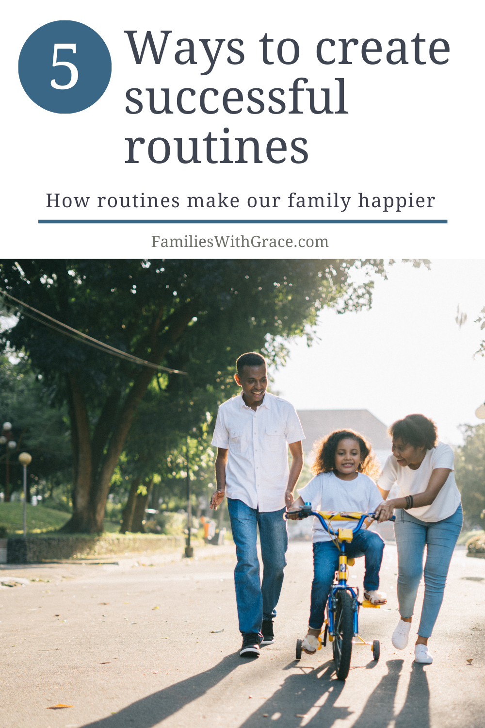How routines make our family happier
