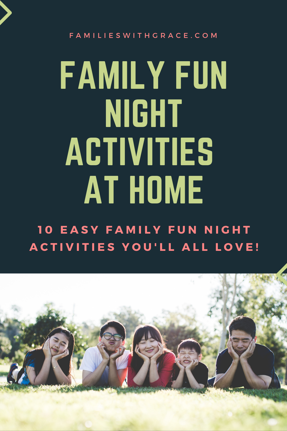 Family fun night activities at home