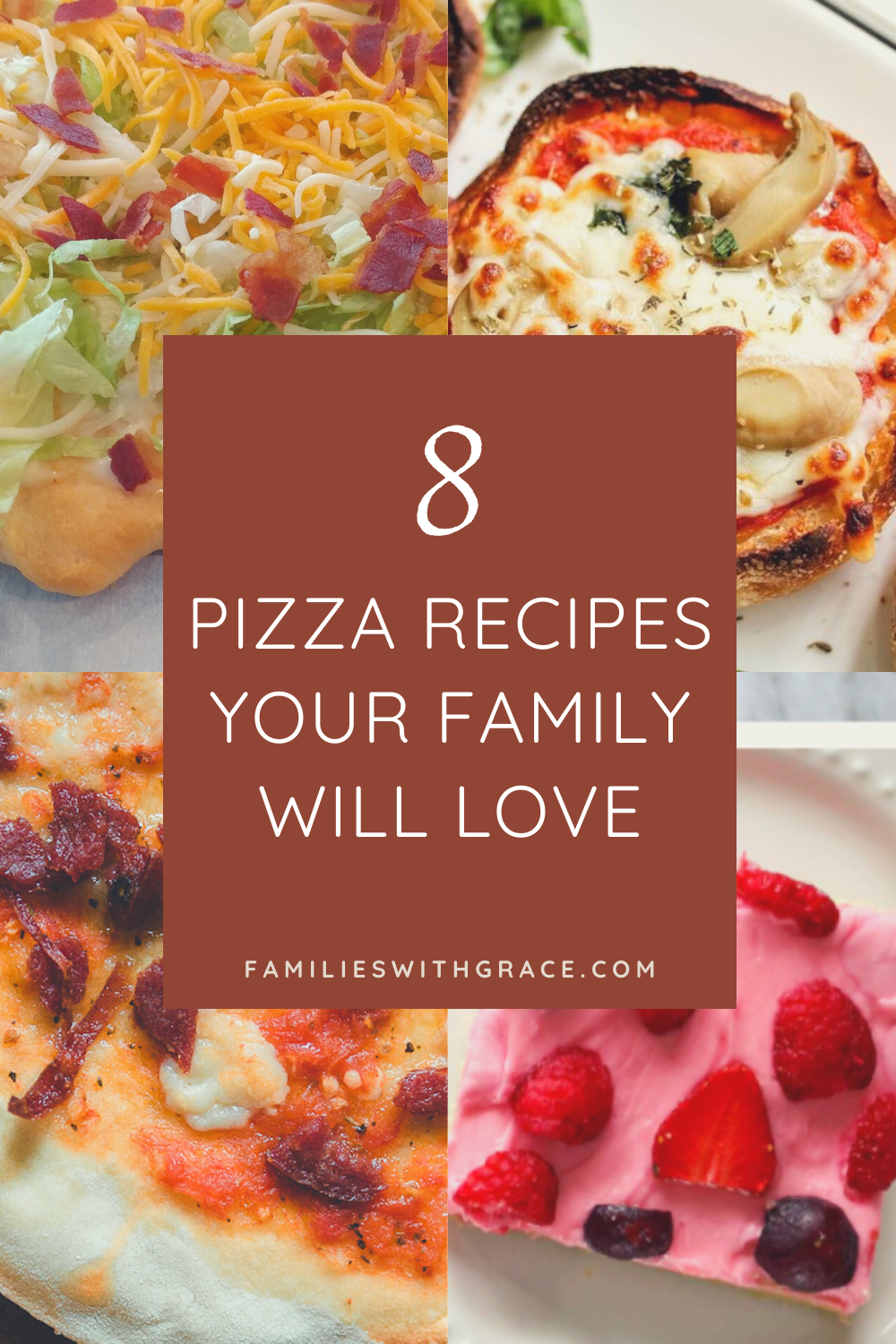 8 Pizza recipes your family will love