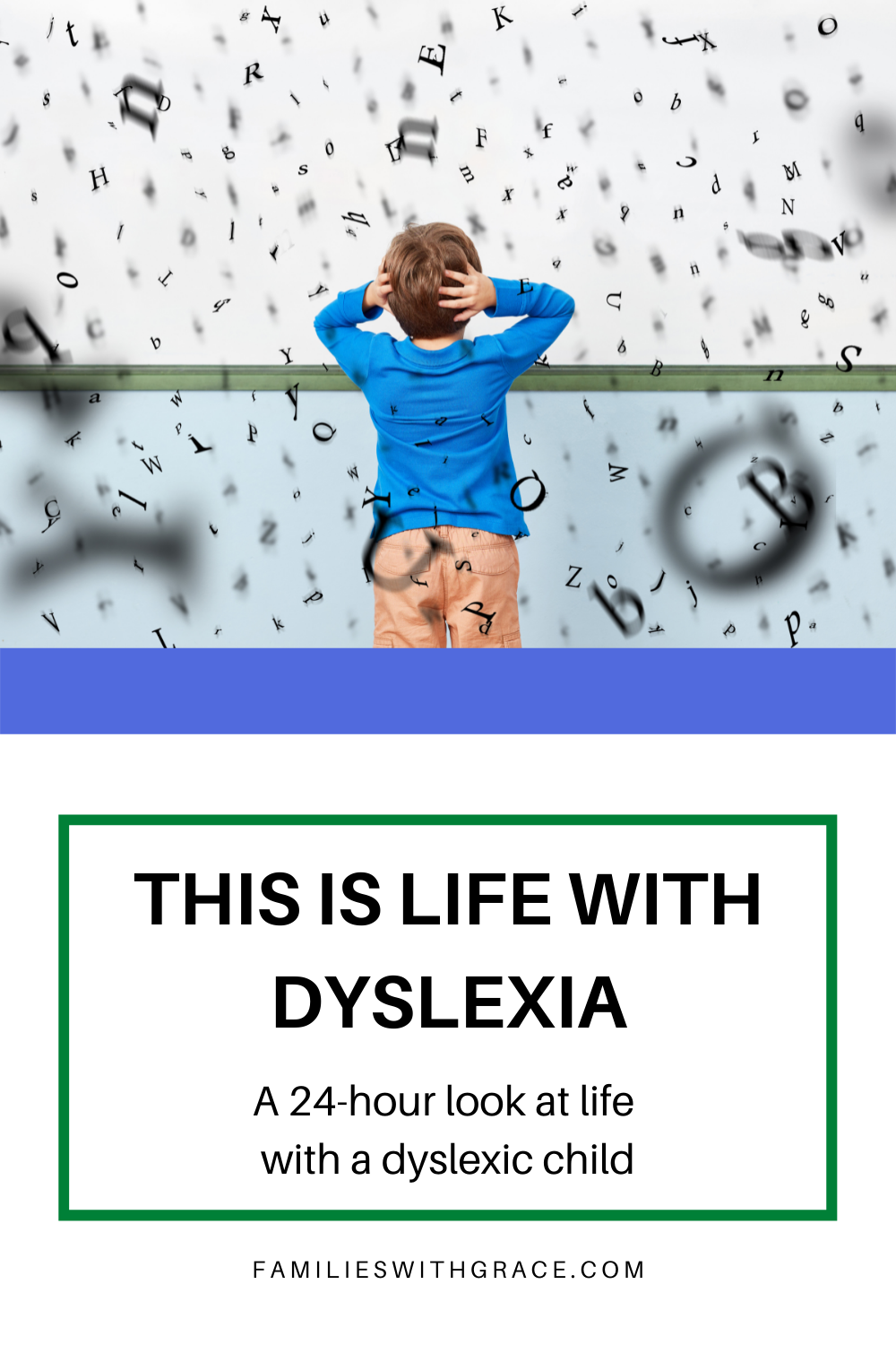 This is life with dyslexia