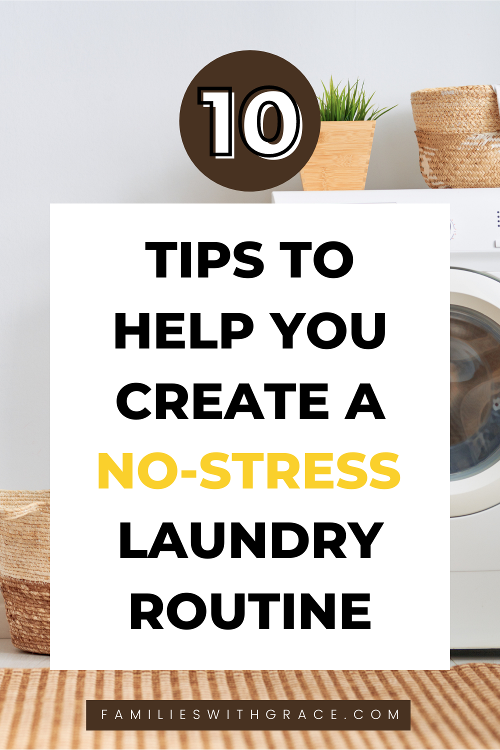 Create a laundry routine that works